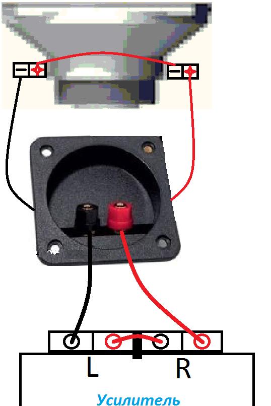 Схема подключения 2-х сабвуферов